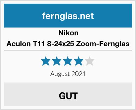 Nikon Aculon T11 8-24x25 Zoom-Fernglas Test