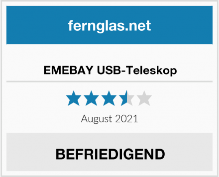 No Name EMEBAY USB-Teleskop Test