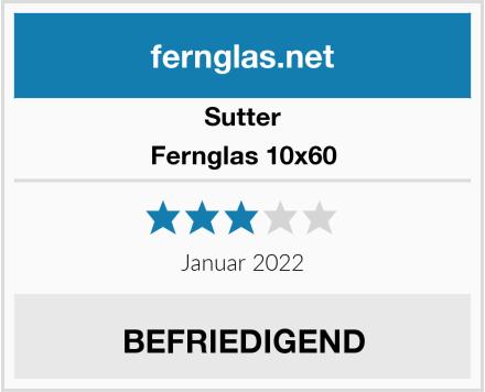 Sutter Fernglas 10x60 Test