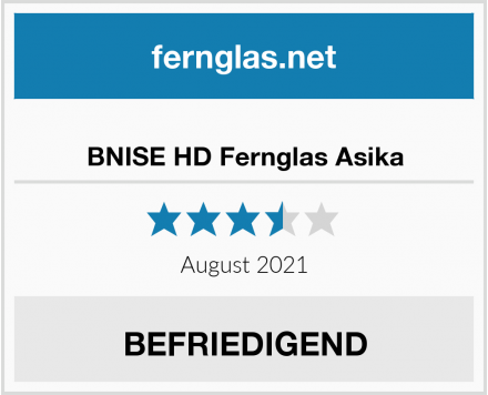 No Name BNISE HD Fernglas Asika Test