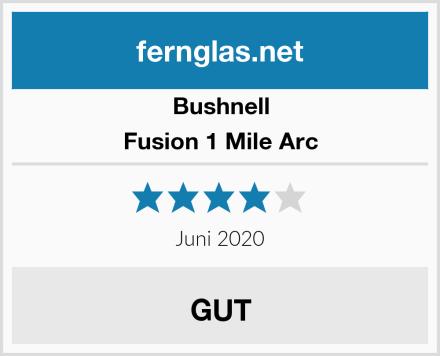 Bushnell Fusion 1 Mile Arc Test