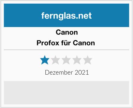 Canon Profox für Canon  Test