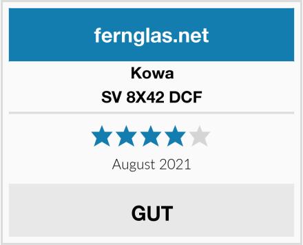 Kowa SV 8X42 DCF Test