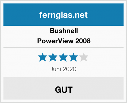 Bushnell PowerView 2008 Test