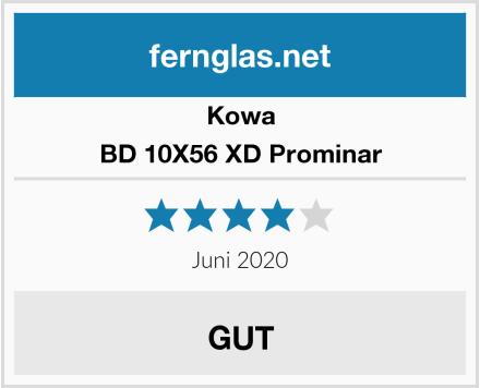 Kowa BD 10X56 XD Prominar Test