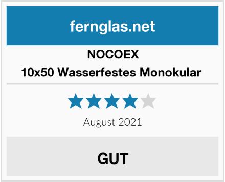 Nocoex 10x50 Wasserfestes Monokular  Test