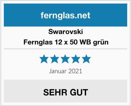 Swarovski Fernglas 12 x 50 WB grün Test