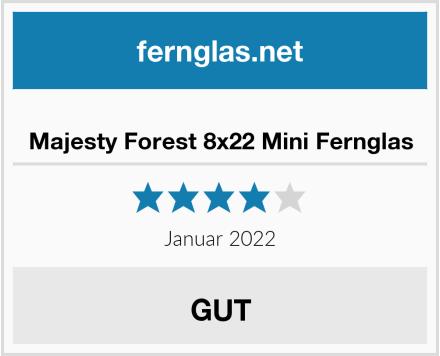 Majesty Forest 8x22 Mini Fernglas Test