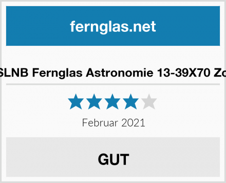ESSLNB Fernglas Astronomie 13-39X70 Zoom Test