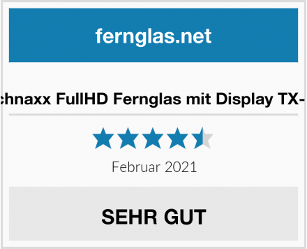 Technaxx FullHD Fernglas mit Display TX-142 Test