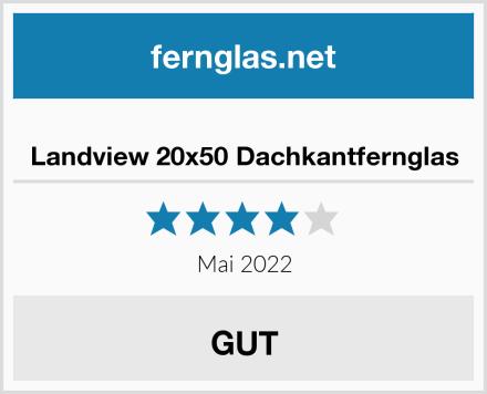 Landview 20x50 Dachkantfernglas Test