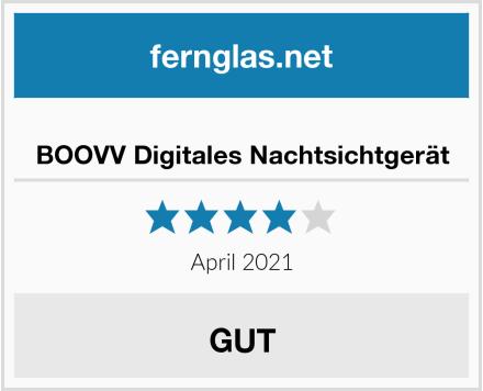 BOOVV Digitales Nachtsichtgerät Test