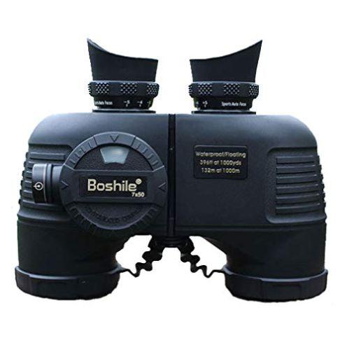 Boshile 7x50 Fernglas mit Entfernungsmesser